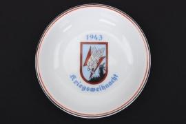 "Christmas 1943 ""Nachtjagd"" plate"