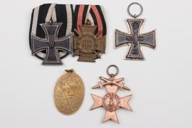Olt. Südel - his father's medals