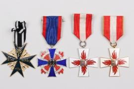 Olt. Südel - postwar medals