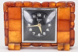 Third Reich Bernstein table clock - SWIZA
