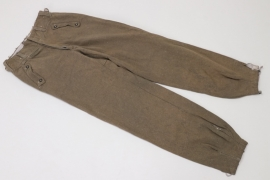 Waffen-SS Assault Gunner's straight trousers