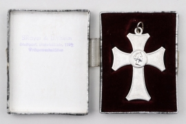 Württemberg - Decoration of Honour in silver for female servants in case