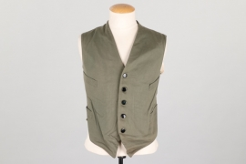 Out of the woodwork - vest