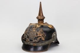 Bavaria - infantry officer's spike helmet M1886/1914
