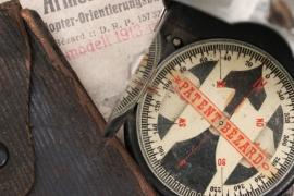WW1 Diopter-Orientierungsbussole Armeemodell II. compass