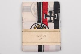 "WW1 patriotic ""war flags"" on roll"
