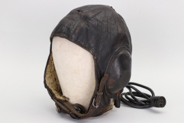Luftwaffe leather flight helmet LKpW101