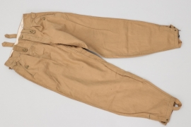 Waffen-SS M43 tropical trousers