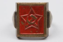 """Third Reich """"Roter Frontkämpferbund"""" ring"""