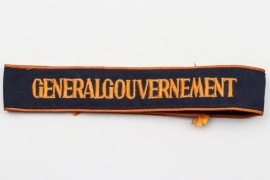 "Third Reich ""Generalgouvernement"" cuffband"