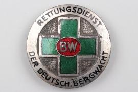 1936 - German Mountain Rescue enamel badge