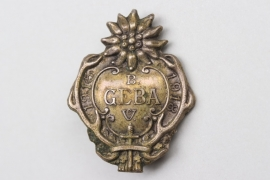 "WWI - ""B. GEBA e.V."" membership badge"