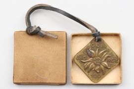 Geb.Jäg.Rgt.100 pendant with case