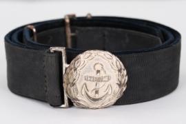 Marine-Chefingenieur - Kriegsmarine official's belt & buckle