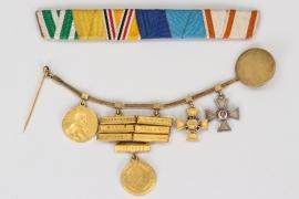 Marine-Chefingenieur - miniature chain & ribbon bar