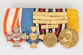 Marine-Chefingenieur - 4 place medal bar