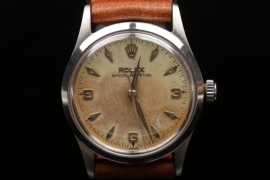 Rolex - Stainless steel men's watch 1956 - Oyster Perpetual