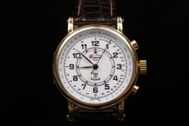 Comor - Stopwatch 18 Kt. gold case
