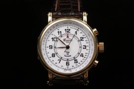 Comor - Stopwatch 18 Kt. gold case