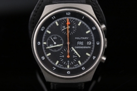 Orfina - Bundeswehr military chronograph from the 80s