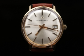 Eterna Matic - 60s watch with 14 kt gold case