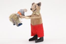 Schuco - Tanzfigur Maus mit Kind