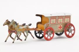 Pennytoy - Lazarettwagen mit Pferden 1.Weltkrieg