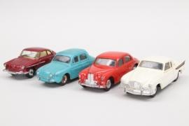 Corgi - Vier Autos