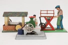 Doll & Co - 3 + Antriebsmodelle für Dampfmaschine