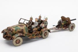 Tipp & Co. - Mannschaftswagen mit Kanone Wehrmacht