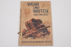"""Third Reich """"Wehr und Waffen - Einst und Jetzt"""" cigarette card album"""