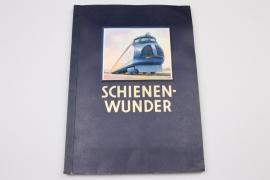 """Seltenes Sammelbilderalbum - """"Schienenwunder"""""""