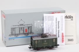 """Märklin - Modell Nr.3683 """"Elektrischer Güter-Triebwagen"""" Spur H0"""