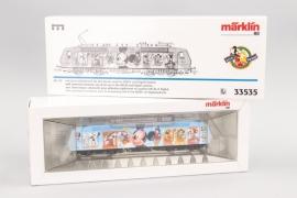 """Märklin - Modell Nr.33535 Elektrische Lokomotive """"Micky Maus"""" Spur H0"""