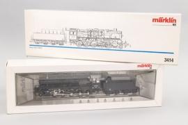 Märklin - Modell Nr.3414 Dampflokomotive mit Schlepptender Spur H0