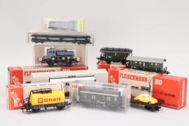 Fleischmann - Konvolut Wagons