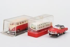 Faller - Drei Autos für Rennbahn
