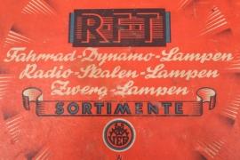 R.F.T. - Fahrrad Dynamo Lampen Sortiment