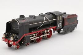 Märklin - Modell Nr. E70/12920 Dampflokomotive mit Anhänger Spur 0