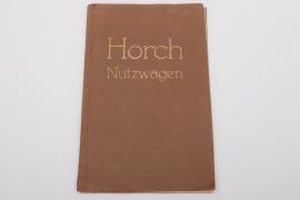 Horch - Antiker Autoprospekt