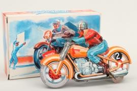 """Technofix - Modell Nr.G.E.255 """"Moto-Flash"""" Motorrad"""
