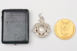 Zwei jagdliche Medaillen
