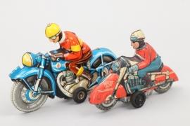Tipp & Co. - Huki - Zwei Blechmotorräder