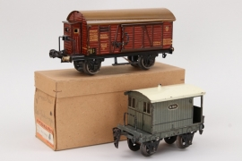 Märklin - Zwei Wagons Spur 0