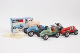"""Schuco - 4 + Mercedes Benz """"Studio"""" Spielzeugautos"""