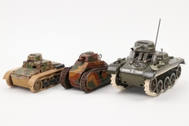 Gama - Märklin - Gescha - Konvolut Panzer