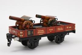 Märklin - Güterwagen 1772/0 mit Kanonen Spur 0