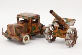 Tipp & Co. - Zugfahrzeug LKW und Geschütz Feldhaubitze