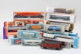 Fahrzeug- und Eisenbahnkonvolut