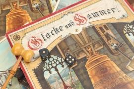 """Antikes Gesellschaftsspiel """"Glocke & Hammer"""""""